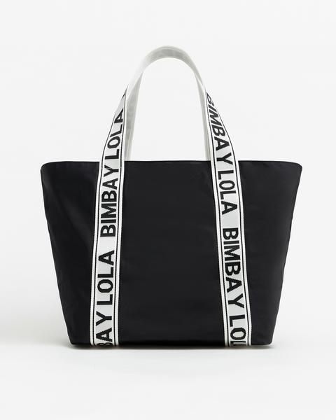 Bolso Shopper L Negro de Bimba Y Lola en 21 Buttons