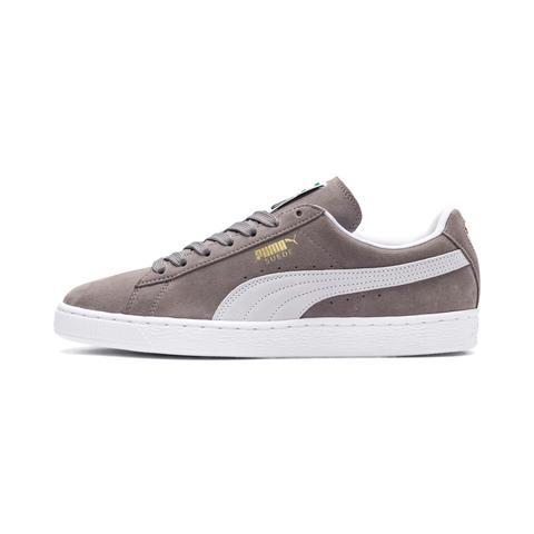 Zapatillas De Hombre Suede Classic, Blanco/gris, Talla 35.5 | Puma Hombres de Puma en 21 Buttons