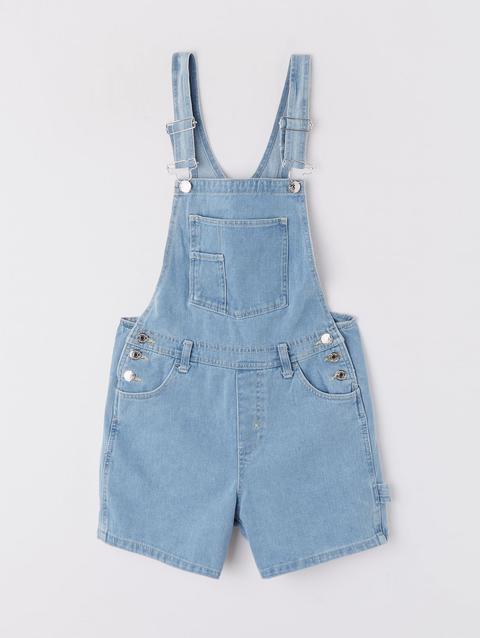 buy online fe4f9 6fafe Salopette Di Jeans Chiaro Blu Denim Chiaro from Terranova on 21 Buttons