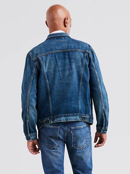 Trucker Jacket Azul / Mayze