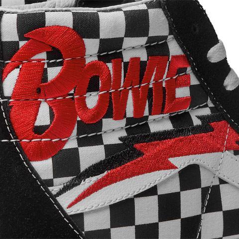 Vans Zapatillas Sk8-hi De Vans X Db ((db) Bowie/checkerboard) Mujer Negro