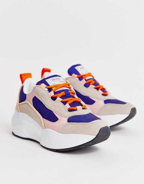 Chunky Sneakers Con Cordones De Sixty Seven de ASOS en 21 Buttons