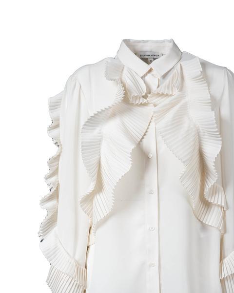 Camicia Con Volant di Silvian Heach su 21 Buttons