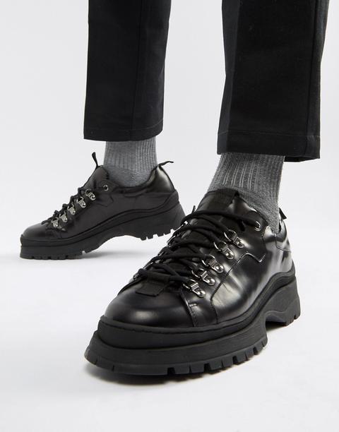 Asos Design Trainer Shoes In Black