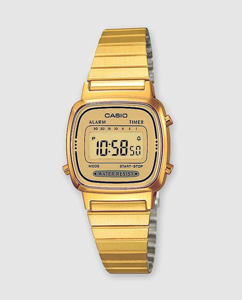 Casio - Reloj De Mujer De Collection La670wega-9ef Vintage de El Corte Ingles en 21 Buttons