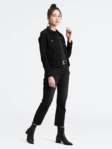 501® Crop Jeans Negro / Black Heart de Levi's en 21 Buttons