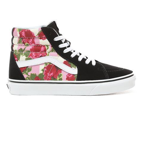vans floral donna