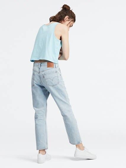 501® Crop Jeans Azul / Montgomery Baked