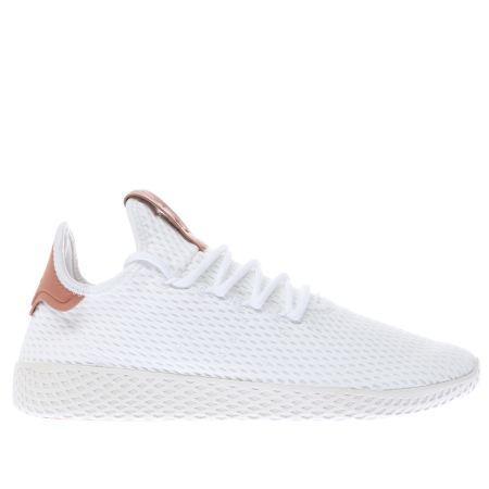 White \u0026 Pink Pharrell Williams Tennis