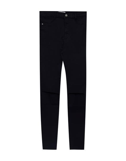 Pantalone Skinny Fit Vita Alta