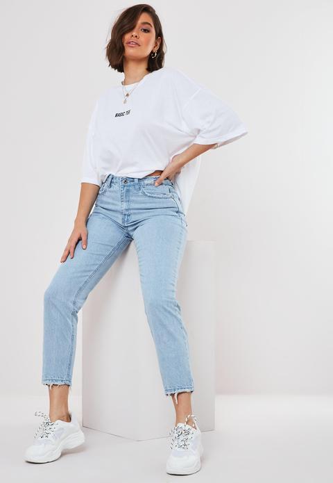 Jean Bleu Clair Taille Haute