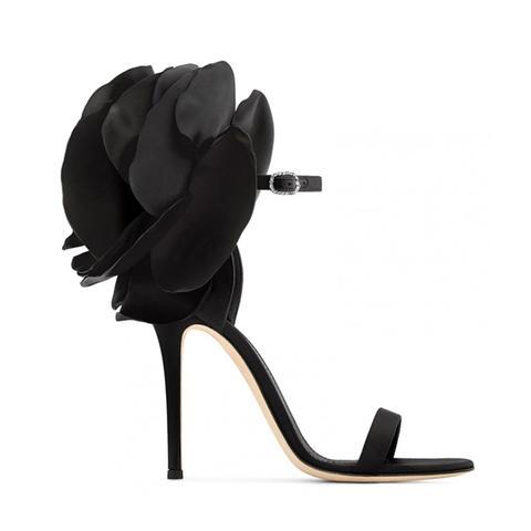 Juane Flower Embellished High Heel Sandals de Jessica Buurman en 21 Buttons