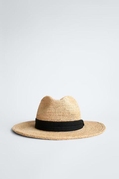 Sombrero Cinta Combinada