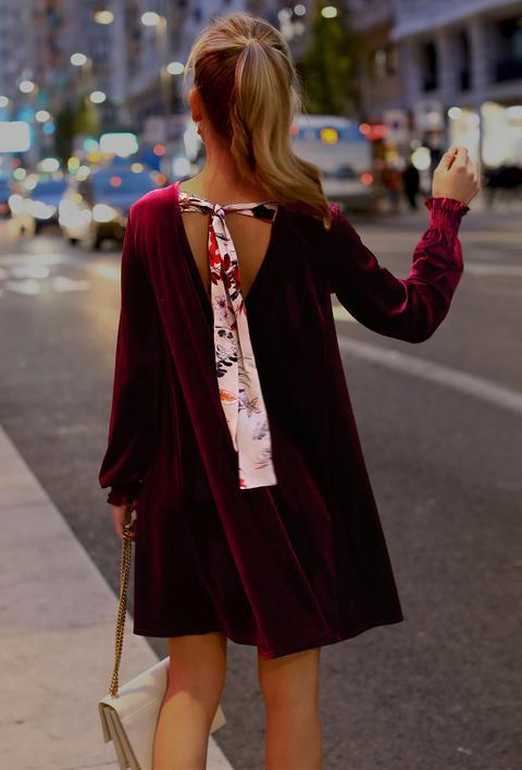 Vestido Velvet Granate de An & Be en 21 Buttons
