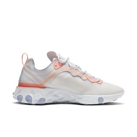 wyprzedaż w sprzedaży Nowa kolekcja zniżka Chaussure Nike React Element 55 Pour Femme - Rose from Nike on 21 Buttons