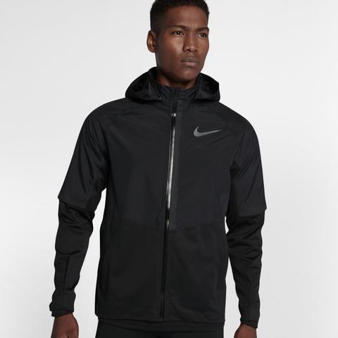 pas mal 88673 d4ed2 Veste De Running Nike Aeroshield Pour Homme - Noir from Nike on 21 Buttons