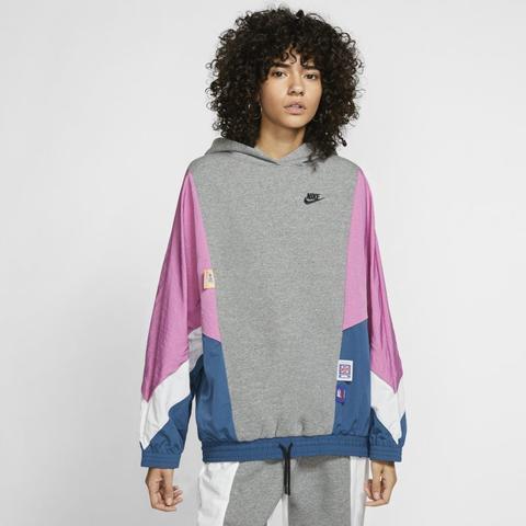 Nike Sportswear Icon Clash Sudadera Con Capucha - Gris