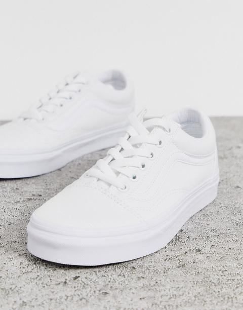 vans classic blanche