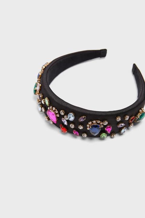 Diadema Satinada Joyas from Zara on 21 Buttons