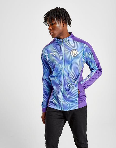 amplio moral pasta  Puma Manchester City Fc Stadium Jacket - Purple - Mens from Jd ...