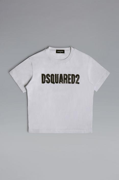Dsquared2 Mujer Camiseta De Manga Corta Blanco Tamaño 4 100% Algodón de Dsquared2 en 21 Buttons