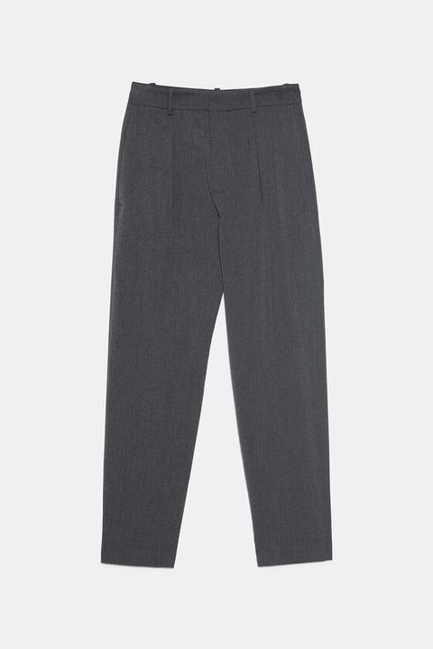 Pantalón Pinzas Tacto Suave