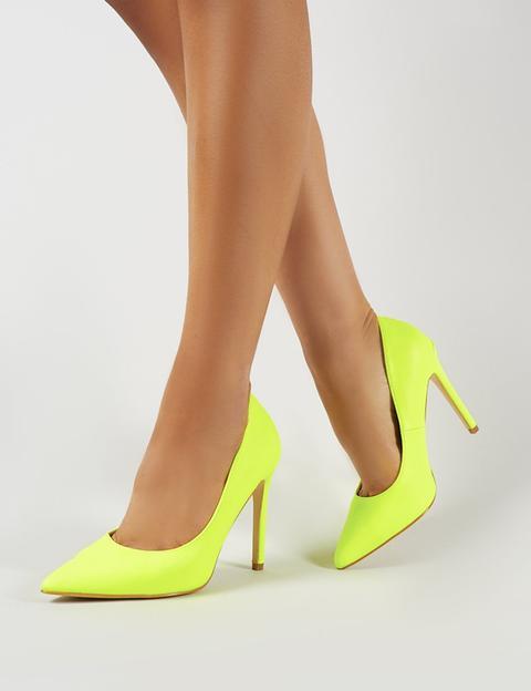 Yellow Court Heels