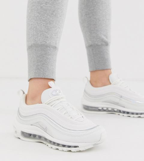 Nike – Air Max 97 – Sneaker In Weiß Und
