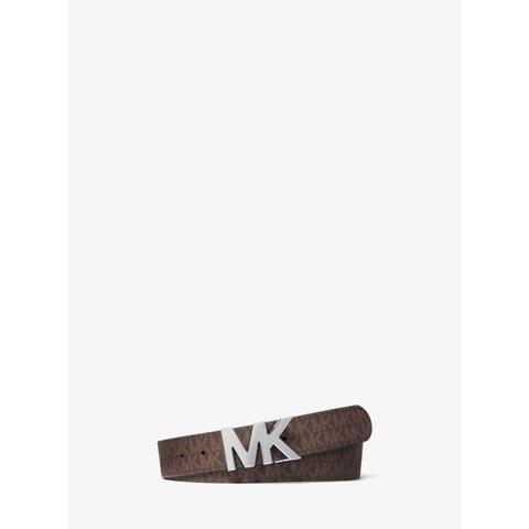 Cinturón Con Hebilla Y Logotipo Reversible de Michael Kors en 21 Buttons