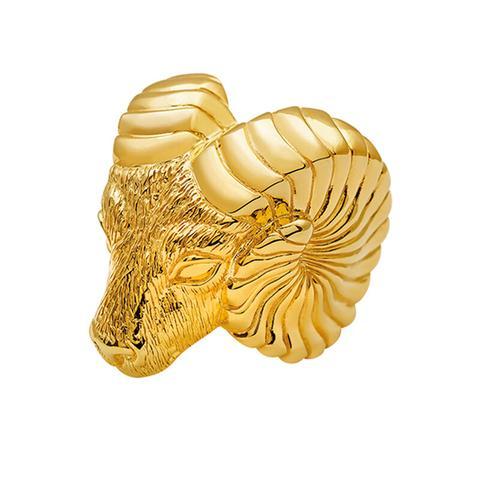 Anillo Marco Polo Plata Recubierta Oro