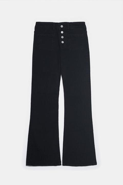 Jeans Z1975 Flare Botones