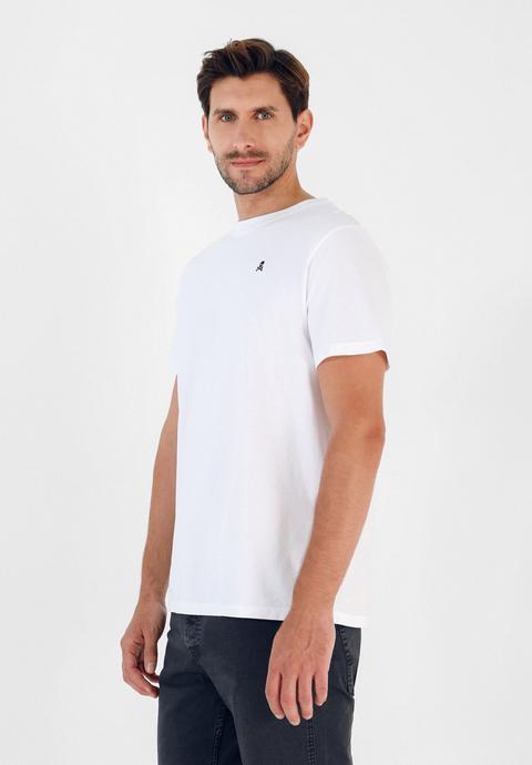 Camiseta Básica Algodón Calavera