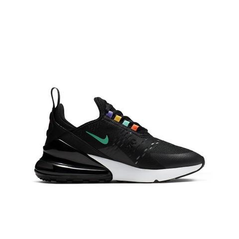 Scarpa Nike Air Max 270 Game Change Ragazzi Nero from