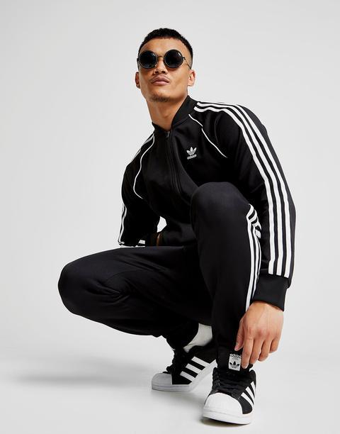Adidas Originals Chaqueta De Chándal Superstar, Negro de Jd Sports en 21 Buttons