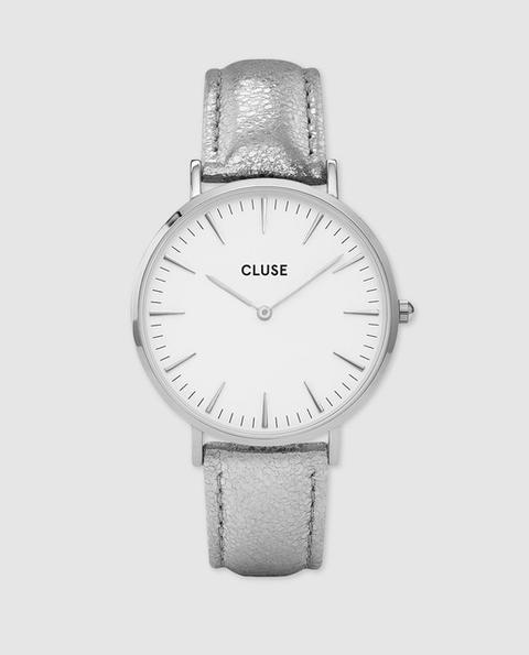 Cluse - Reloj De Mujer De Piel Metalizada de El Corte Ingles en 21 Buttons