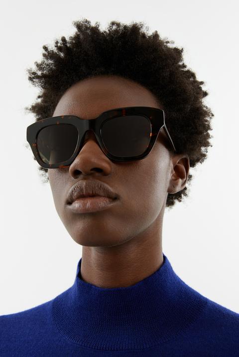 Gafas De Sol Cuadradas Carey de Bimba Y Lola en 21 Buttons