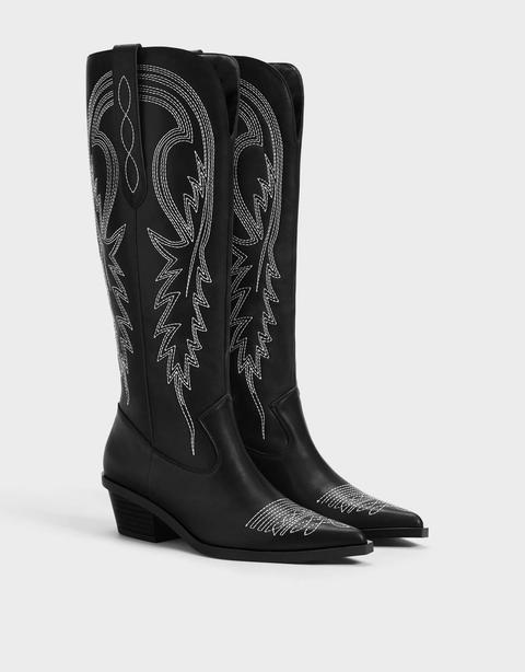 Botas Cowboy Piel