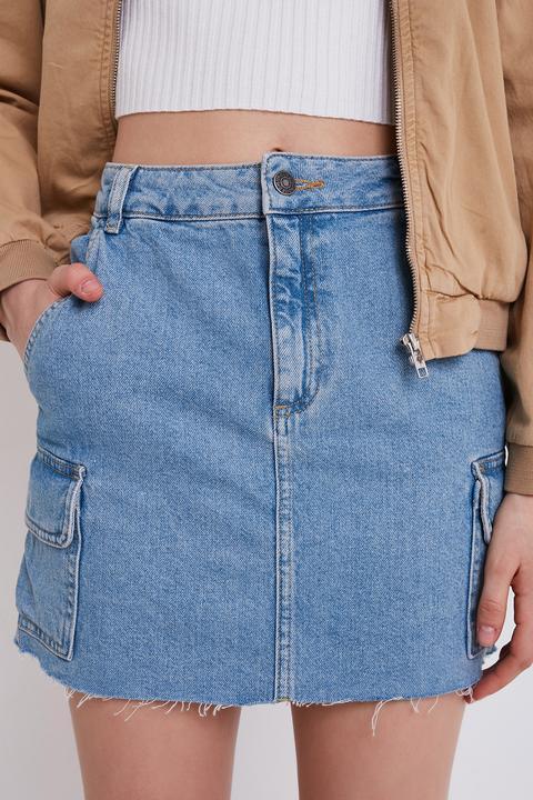 migliore vendita consistenza netta economico in vendita Gonna Cargo Jeans from SUBDUED on 21 Buttons