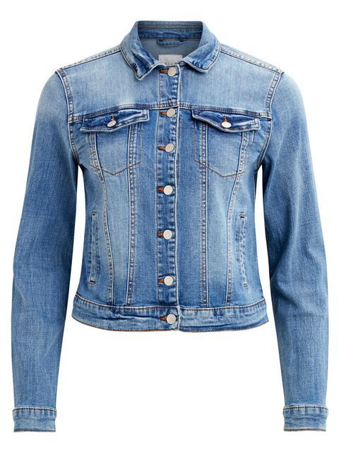 Pocket Denim Jacket de Vila en 21 Buttons