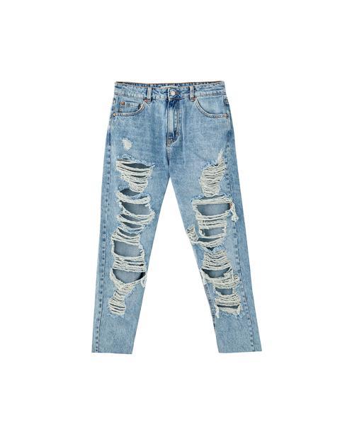 Jeans Mom Rotos Grandes