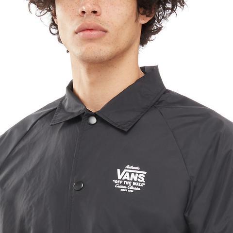 Vans Chaqueta Torrey Coaches (black-white) Hombre Negro