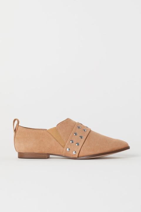Chaussures Cloutées - Beige