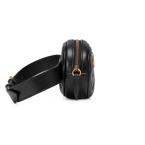 Bolsa Con Cinturón Gg Marmont De Piel Matelassé