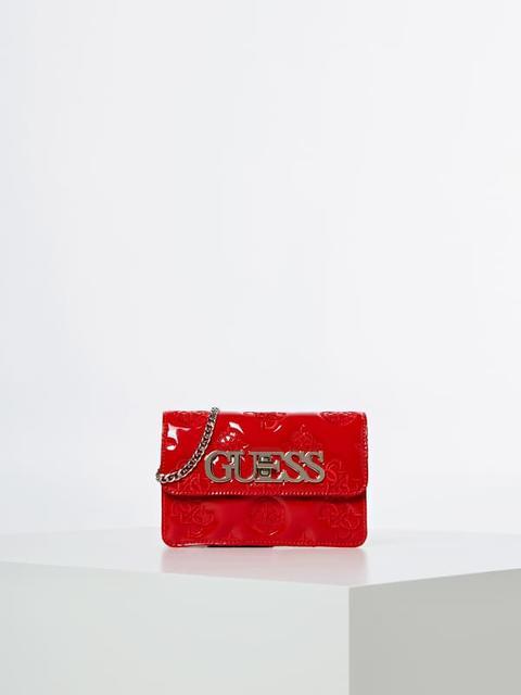 Mini Bandolera Guess Chic Charol de Guess en 21 Buttons