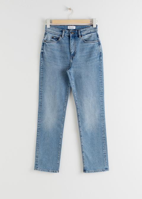 High Rise Slim Jeans