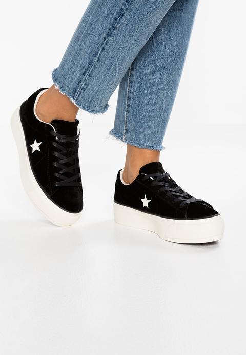 One Star Platform Ox Velvet - Sneakers