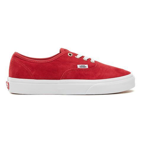 vans authentic rosso