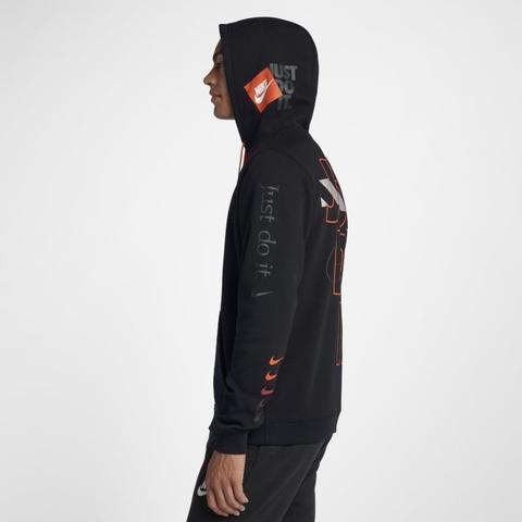 NIKE Herren Sweater Nike Sportswear JDI schwarz | S