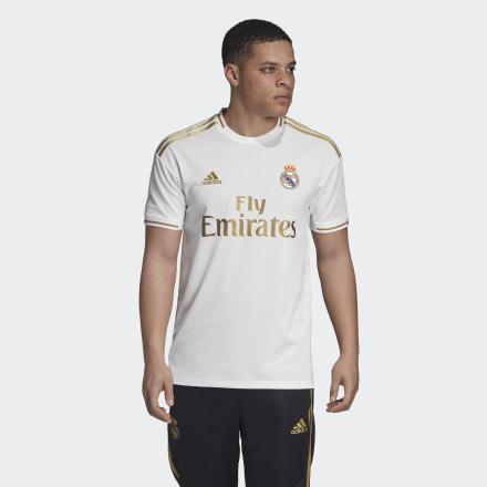 Camiseta Primera Equipación Real Madrid de Adidas en 21 Buttons