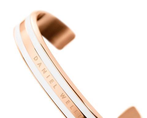 Classic Bracelet Satin White de Daniel Wellington en 21 Buttons